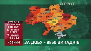 Коронавірус в Украі ні статистика за 5 листопада