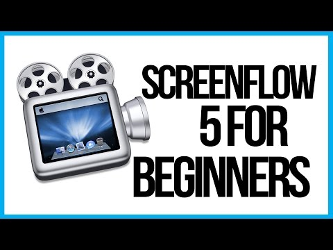 How To Use Screenflow 5 For Beginners - Screenflow Tutorial - 동영상