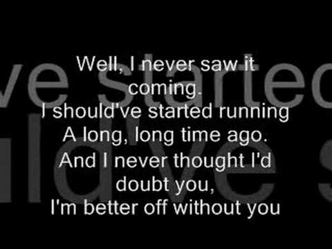 Chris Daughtry Over You With Lyrics