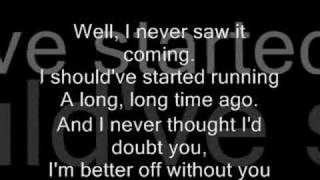 Chris Daughtry- Over You( With Lyrics)
