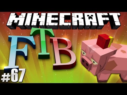 Minecraft Feed The Beast #67 - Hats, Hats everywhere!