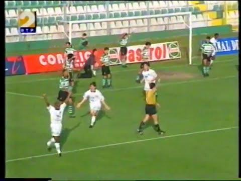 Leça - 0 x Sporting - 2 de 1997/1998 Taça de Portugal 3Elim