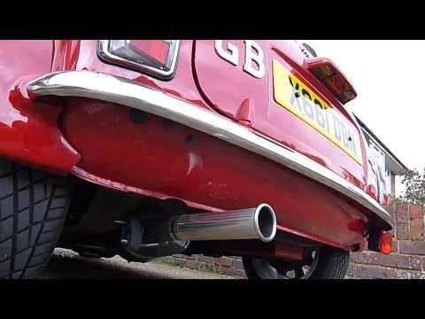 2000 Rover Mini Cooper Sport with Maniflow Exhaust