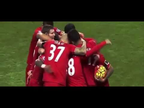 """Mancester City vs Liverpool 1 - 4 (2015) All Goals """" Mangala (OG) , Countinho , Firmino , Aguero """""""