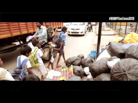Vote for the Ideal Corporator - Garbage - Installation Art @ Uttarahalli