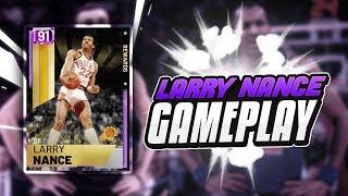 AMETHYST LARRY NANCE IS A GAME BREAKING CARD! BEST DUNKER IN NBA 2K19 MYTEAM!
