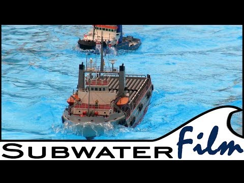 RC Ship | Waves and Offshore 🚢 Duty on SEA in Aukrug!