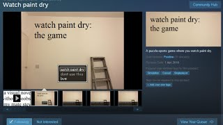 """Watch Paint Dry"" Game Put on Steam by 16 Year-Old Hacker - #CUPodcast"