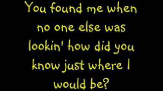 Kelly Clarkson You found me with lyrics on screen and in description ENJOY