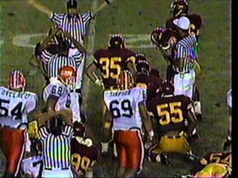 Illinois Fighting Illini at USC Trojans - College Football 1989
