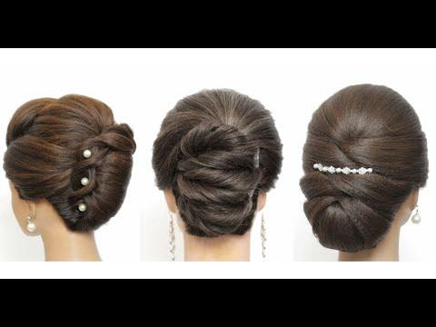 Женские прически на длинные и средние волосы