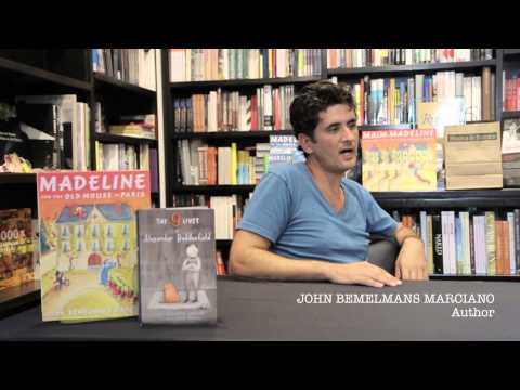 John Bemelmans Marciano visits Books & Books in Grand Cayman