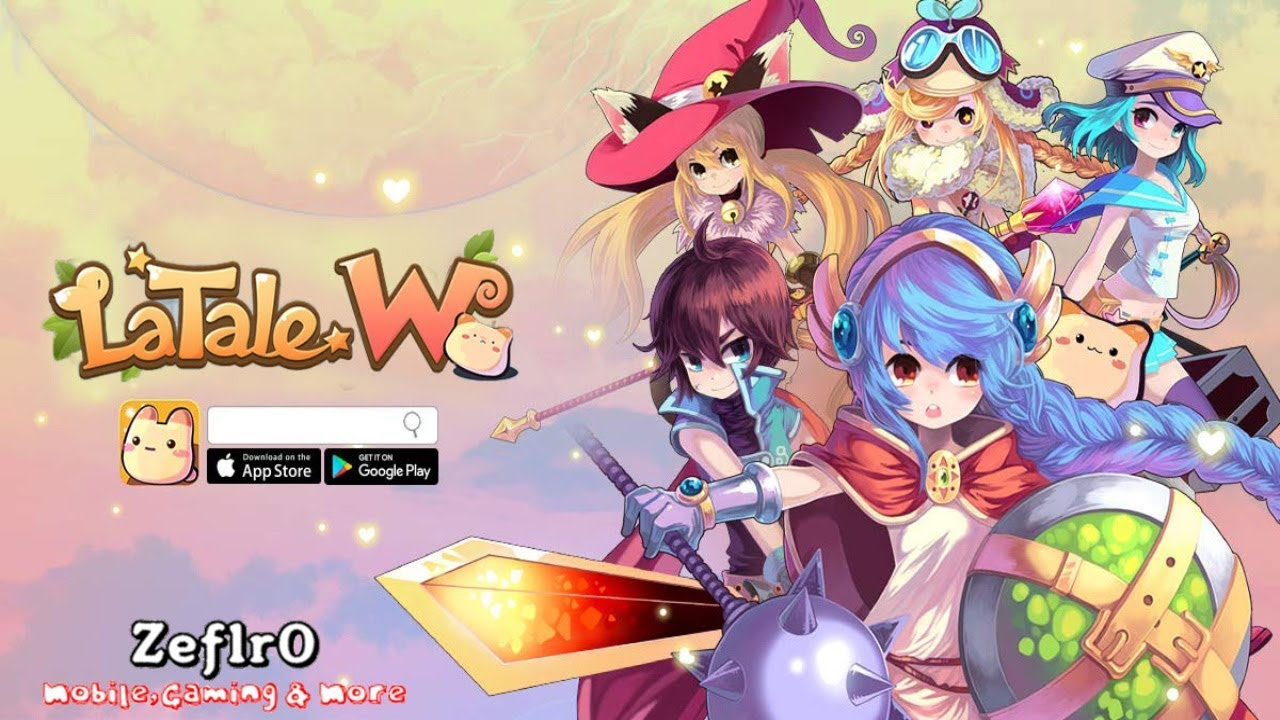 LaTale W - A Brand New Style Of MMORPG || iOS & Android