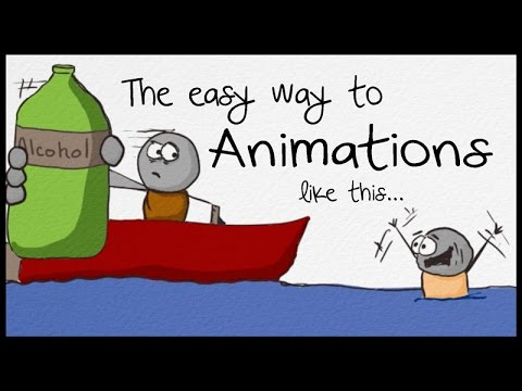 How to Make Sketch Animations - Whiteboard Drawing Style Tutorial