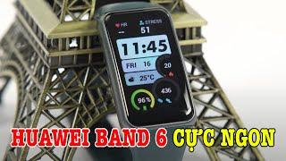 Trên tay Huawei Band 6 GIÁ RẺ RẤT NGON, hơn cả Mi Band 6?