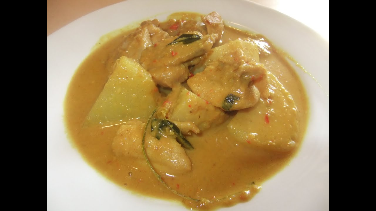 Kari Ayam (Indonesian Malaysian Chicken  Potato Curry)YouTube