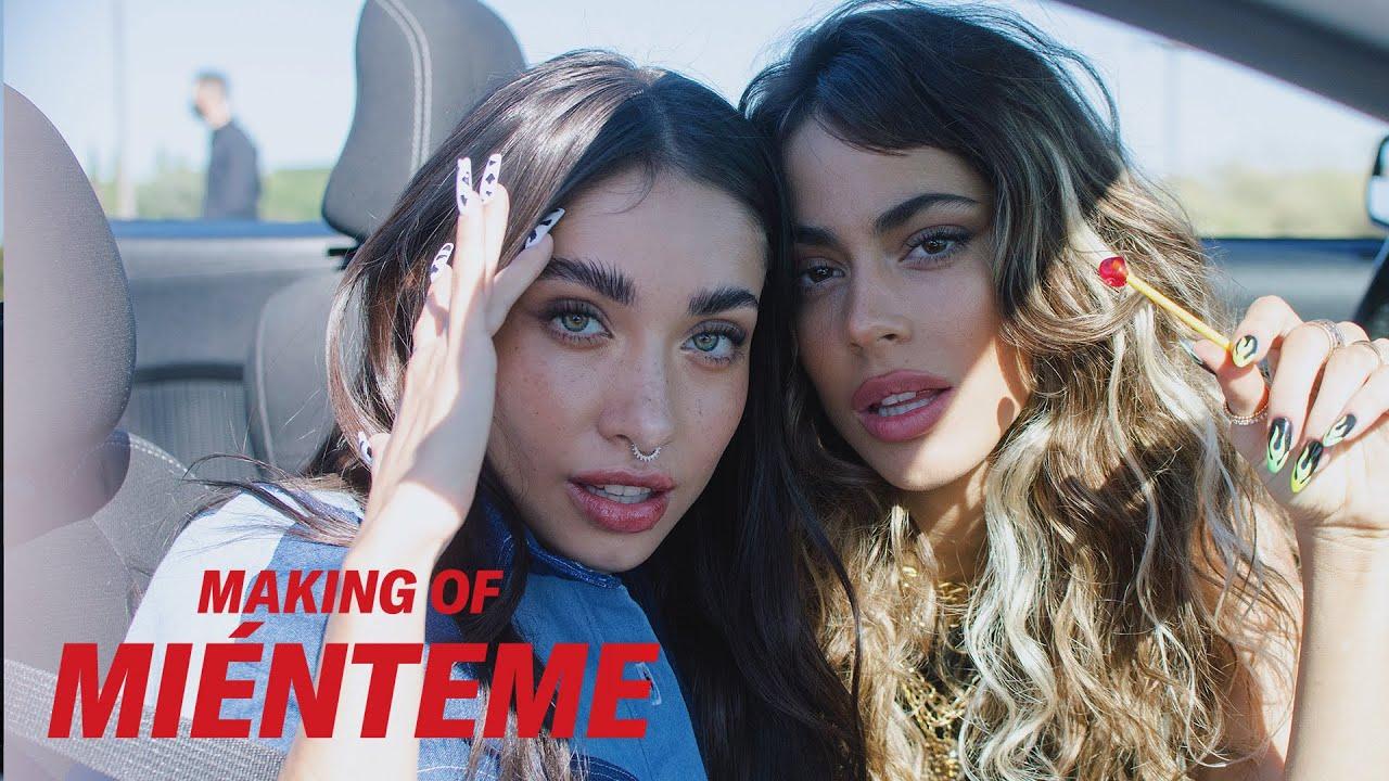 Making Of: ' Miénteme ' | TINI, Maria Becerra