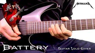 Battery Guitar Solo Cover - Metallica