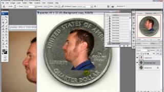 Photoshop Coin face