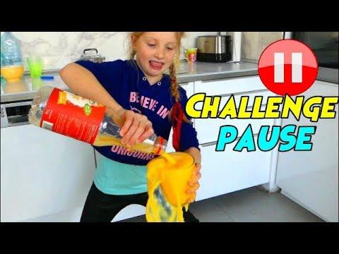 Alicia Fait le PAUSE CHALLENGE en Francais