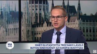 Ismét elutasította Trócsányi László biztosi kinevezését az EP jogi bizottsága