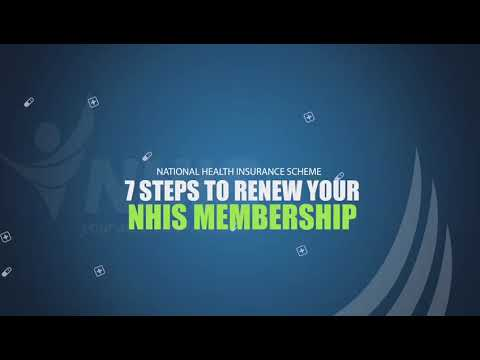 7 Steps To Renew Your Nhis Membership Using Your Phone Youtube