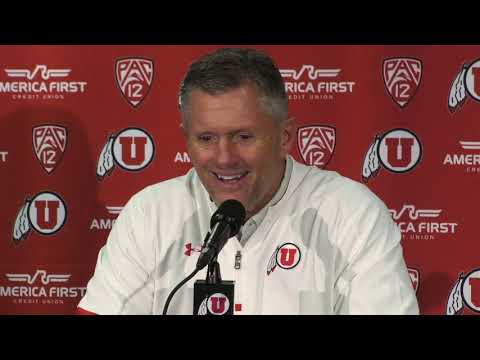 2018 Utah football: Kyle Whittingham talks Utes' 35-27 win over BYU