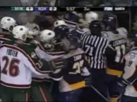 NHL Enforcers: Derek Boogaard 2005-2006 Fights