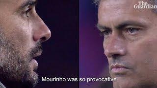 Xavi explica por qué Guardiola entró a la 'guerra' con Mourinho ⚽ REVIEW ⚽ 2018
