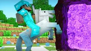 Minecraft Xbox - SCARIEST NETHER JOURNEY EVER!! Minecraft Survival #10 (Minecraft Gameplay)