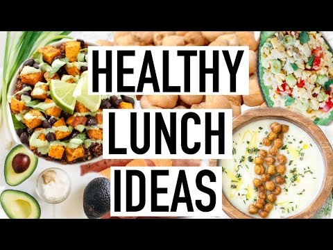 3 EASY HEALTHY LUNCH IDEAS! Cooking With Liv Ep.9