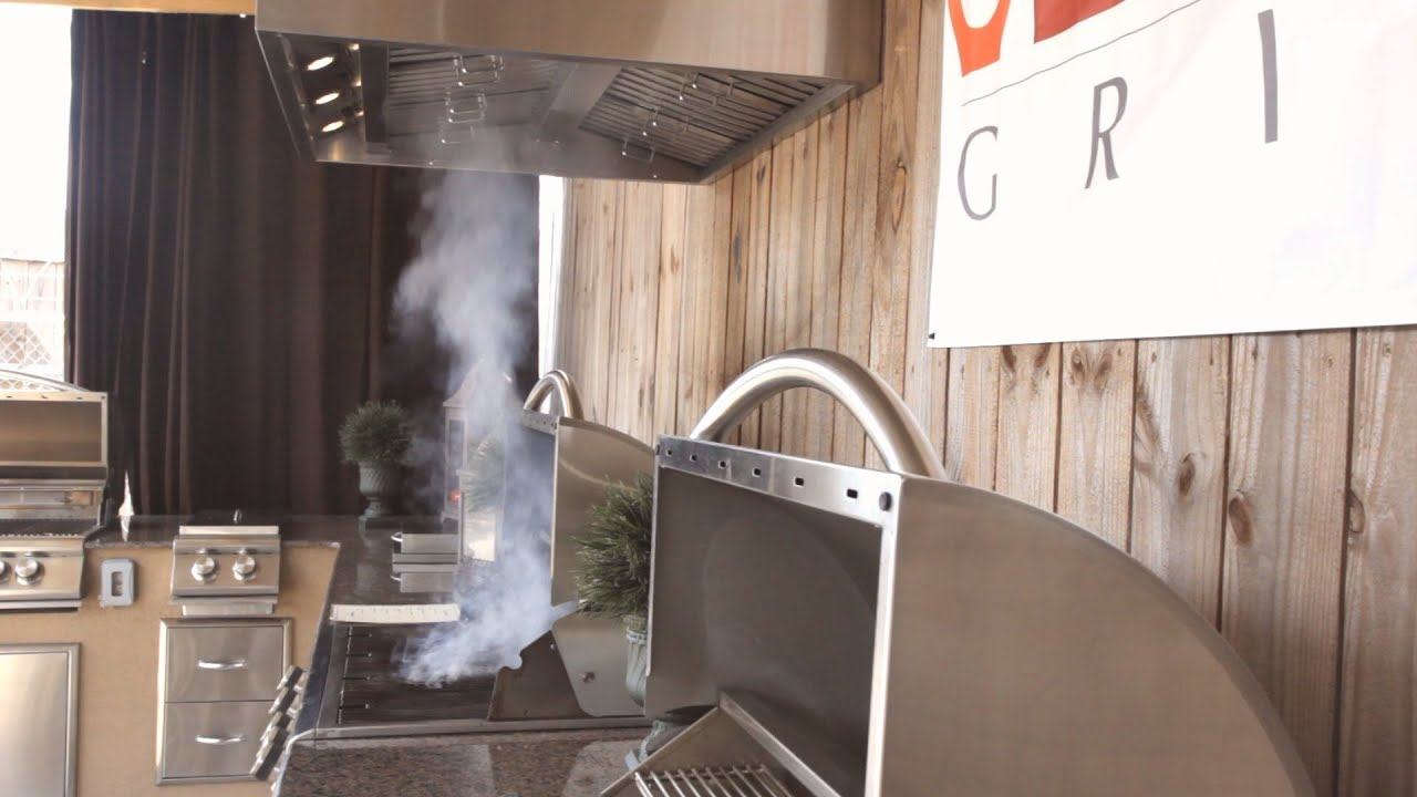 Review Of The Blaze Outdoor Vent Hood   Buyers Guide   BBQGuys.com   YouTube
