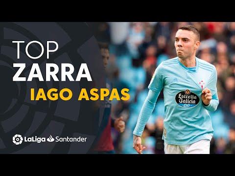 Iago Aspas - Trofeo Zarra LaLiga Santander 2018/2019