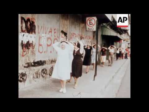 Violence at the funeral of Archbishop Romero