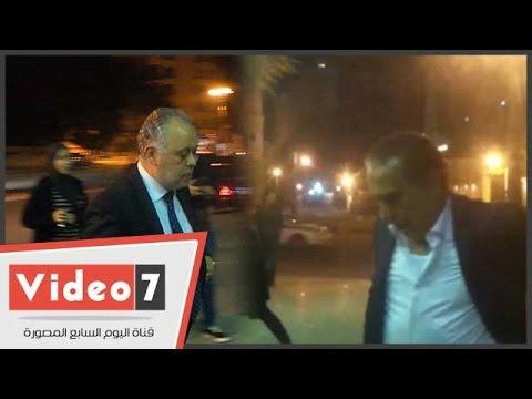 اليوم السابع : محمد العدل وأشرف زكى والصريطى بعزاء والد المخرج محمد بكير