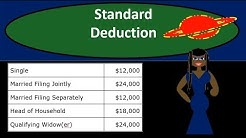 Standard Deduction - Income Tax 2018 / 2019