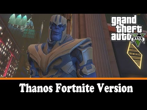 Thanos Fortnite Version
