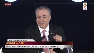 BASIN TOPLANTISI | Başkanımız Mustafa Cengiz'den açıklamalar (12.11.2018)