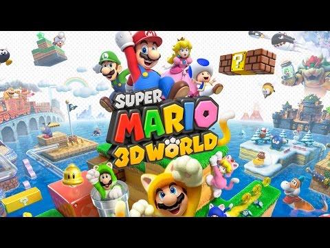CGR Undertow - SUPER MARIO 3D WORLD review for Nintendo Wii U