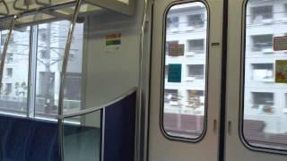 Repeat youtube video 東京メトロ16000系16205 常磐線内我孫子→柏 雨天による空転滑走有