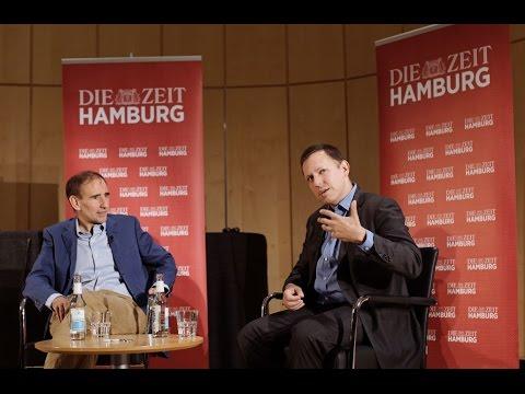 """Peter Thiel im Gespräch mit Uwe Jean Heuser über sein neues Buch """"Zero to One"""""""
