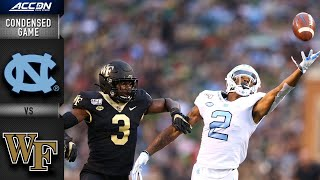 North Carolina Wake Forest Condensed Game | ACC Football 2019-20