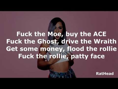 No Limit - G Eazy ft Cardi B, A$AP Rocky Lyrics