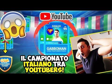 CRISTIANO RONALDOOO!! Parte il CAMPIONATO ITALIANO di OSM tra YOUTUBERS!
