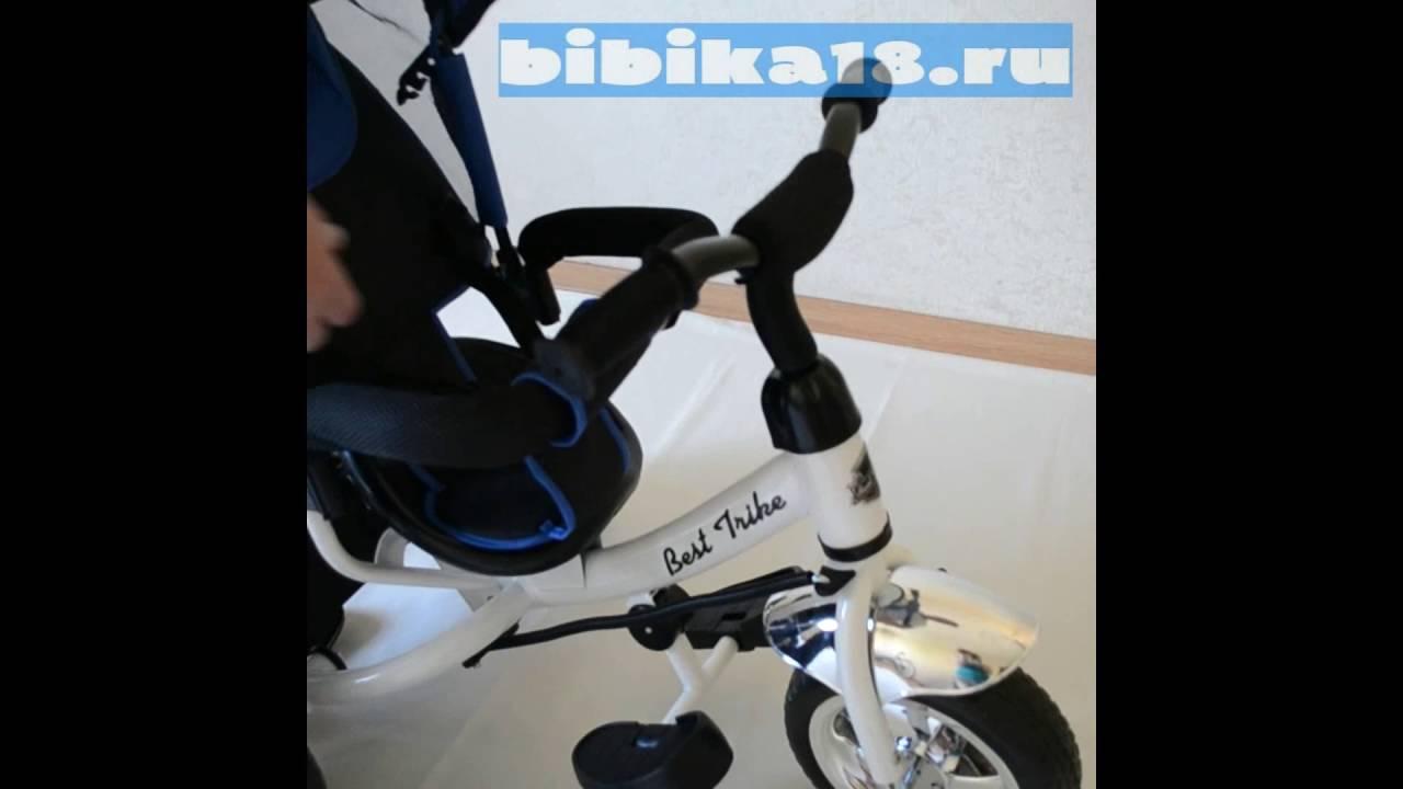 Трех-колесный авто-велосипед с нарушенным развал-схождением (2 .