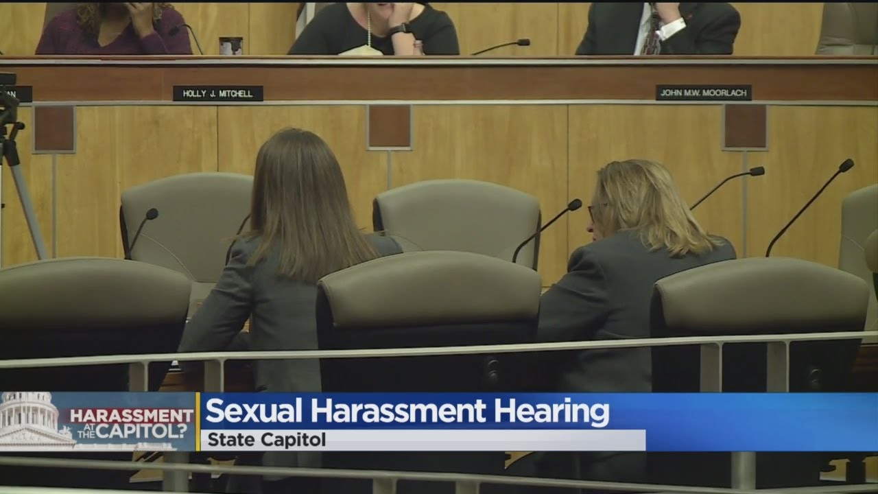 Joint Committee Meeting At Capitol To Discuss Sexual Harassment Policies