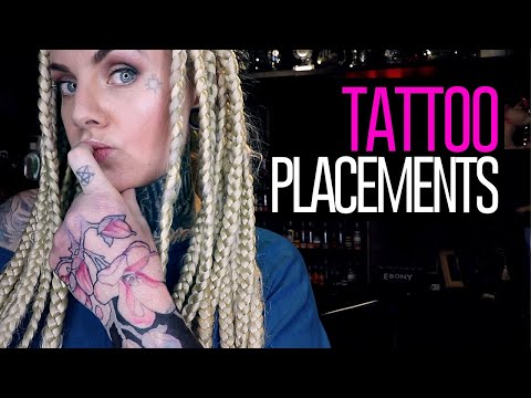 TATTOO PLACEMENTS⚡What to think about before placing your tattoos.