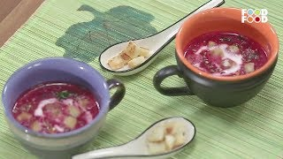 Beetroot Apple And Coconut Soup | Monsoon Magic | Chef Harpal Singh | FoodFood