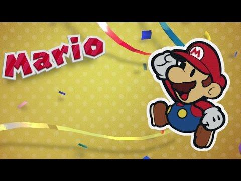 Paper Mario: Color Splash Walkthrough Part 1 - Port Prisma, Ruddy Road & Cherry Lake
