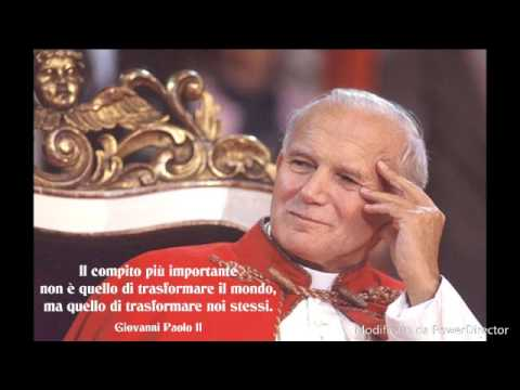 Frasi Famose Di Papa Giovanni Paolo 2.Le Frasi Piu Belle Di Papa Giovanni Paolo Ii Youtube
